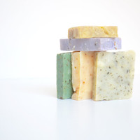 Soap Samples; Handmade Soap Samplers; Guest Soap; Homemade Soap; Natural Soap Set; Sample Bath Set; Gift Under 10; Christmas Stocking; Gifts