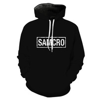 Sons Of Anarchy California Hoodie