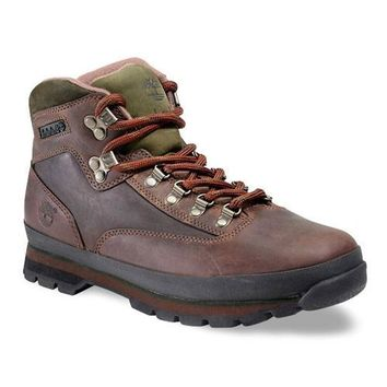 MENS TIMBERLAND LEATHER EURO HIKER BOOTS