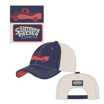 Hat Southern Raised Truck
