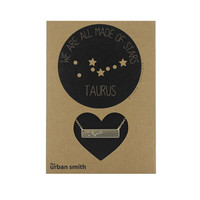 WE ARE ALL MADE OF STARS CONSTELLATION NECKLACE - TAURUS