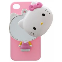 PINK HELLO KITTY MIRROR IPHONE 4/4S + 5 + S3 CASE. - IPHONE 4/4S - TECH