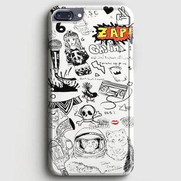 1D Zayn Malik Tattoos iPhone 7 Plus Case