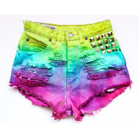 Dyed - Ombre - Shorts