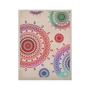 "Monika Strigel ""Rainbow Infinity"" KESS Naturals Canvas (Frame not Included)"