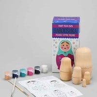 Paint Your Own Babushka Kit- Assorted One
