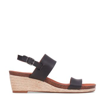 Lucky Brand Jette Leather Wedge