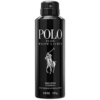 Ralph Lauren Polo Black Deodorant Body Spray (6 oz)