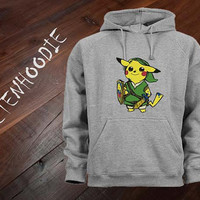 Zelda Pokemon hoodie sweatshirt jumper t shirt variant color Unisex size