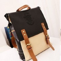2013 New Retro Vintage Women's Backpack School Bag Fashion Travel School PU Leather Handbag