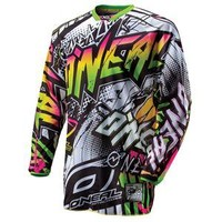 O'Neal Racing Hardwear Automatic Jersey - 2013 - Dirt Bike Motocross - Motorcycle Superstore
