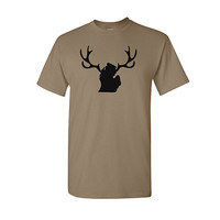 MICHIGAN MITTEN DEER ANTLERS SHIRT