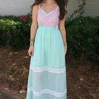 Summer Maxi Dress - Lotus Boutique
