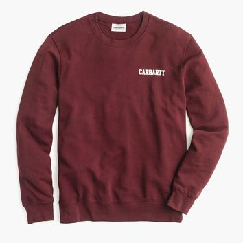 Carhartt® Work in Progress logo crewneck sweatshirt