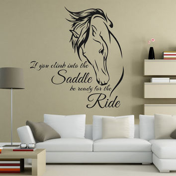 Horse Wall Decal, Horse Decal, Horse Decor, Horse Art, Horse Wall Decals, Horse Decals, Equine Decor, Equine Art