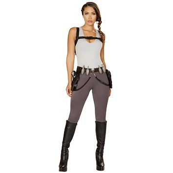 Sexy Rampage Tomb Raider Costume with Accessories