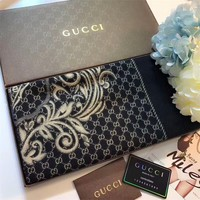 Best Online Sale Gucci Keep Warm Scarf Smooth Skin-friendly Scarves Winter Wool Shawl Style #3