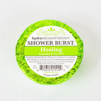 healing shower burst