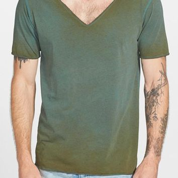 Men's Urban Camo Brigade Wide V-Neck T-Shirt,