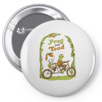 frog & toad Pin-back button