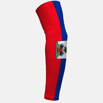 Haiti Flag Arm Sleeve