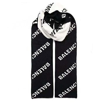 Balenciaga Hot Sale Popular Cashmere Cape Scarf Scarves Shawl Accessories