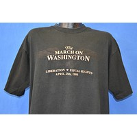 90s March on Washington 1993 t-shirt Extra Large
