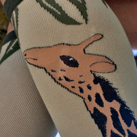 Giraffe Knee High - Sock Dreams - Unique Colorful Socks