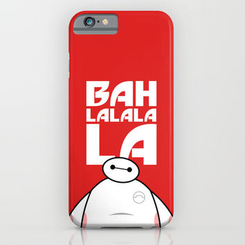 Big Hero 6 Six - Baymax Ba la la la la iPhone & iPod Case by Snarky Shark