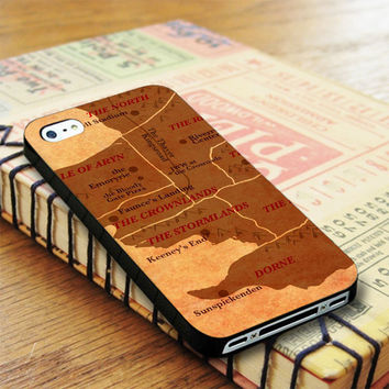 World Map Game Of Thrones iPhone 4 | iPhone 4S Case