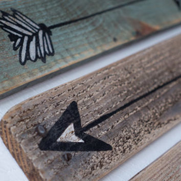 Rustic Wooden Arrows - 3 Piece Set, Rustic Decor, Farmhouse Decor, Arrow Decor, Rustic Nursery Decor, Gallery Wall Decor, Wooden Arrow