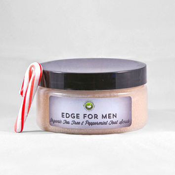 Men's Organic Tea Tree & Peppermint Scrub