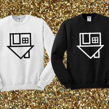 The Neighbourhood Symbol crewneck sweater available for men and woman unisex adult