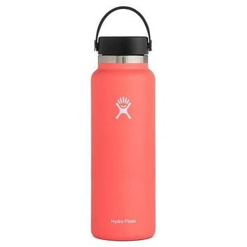40 oz Wide Mouth Hydro Flask - Hibiscus
