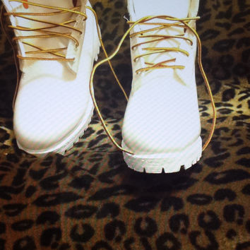 Custom Cheetah Timberlands