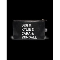 Vegan Leather Pouch- Gigi & Kylie & Cara & Kendall