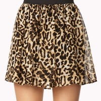 Chiffon Safari Skirt