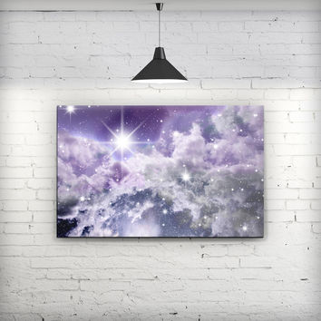 Sparkly Space - Fine-Art Wall Canvas Prints