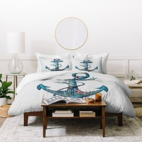 Terry Fan Lost At Sea Duvet Cover