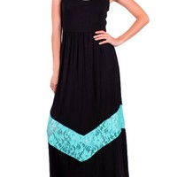 Maxi with Lace Detail
