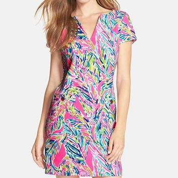 Women's Lilly Pulitzer 'Layton' Print Ottoman Shift Dress,