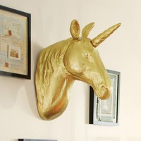The Emily & Meritt Unicorn Wall Mount