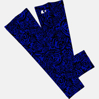 Roses Blue arm sleeve