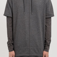 HD056 Stealth Layered Hoody - Charcoal