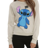 Disney Lilo & Stitch Hi Bye Girls Pullover Top