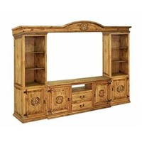 """Texas Star- 50"""" Wall Unit by Rustic Specialists at Ivan Smith Furniture"""