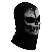 Skull cotton Headgear/Ghost squad Edition mask/riding mask/outdoor caps/CS/COD cosplay/Halloween  paintball masks for airsoft