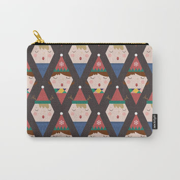 Day 25/25 Advent - a Christmas Carol Carry-All Pouch by lalainelim