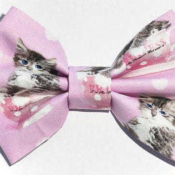 Girly Kitten Hair Bow