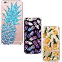 Juicy Pineapples Soft Silicon for iPhone 6 6S